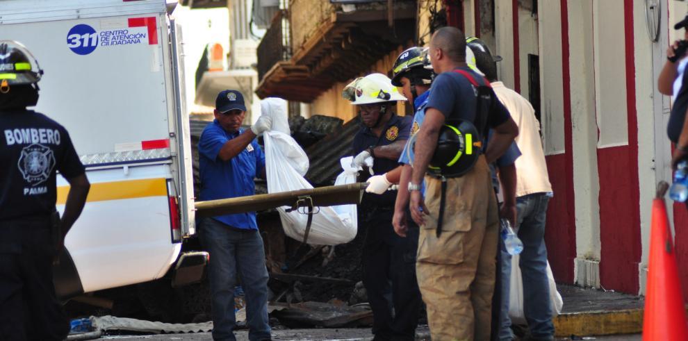 Encuentran otro cadáver en caserón incendiado en el Casco Antiguo