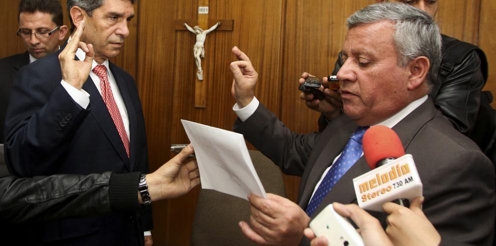 Rafael Pardo asume funciones como nuevo alcalde de Bogotá