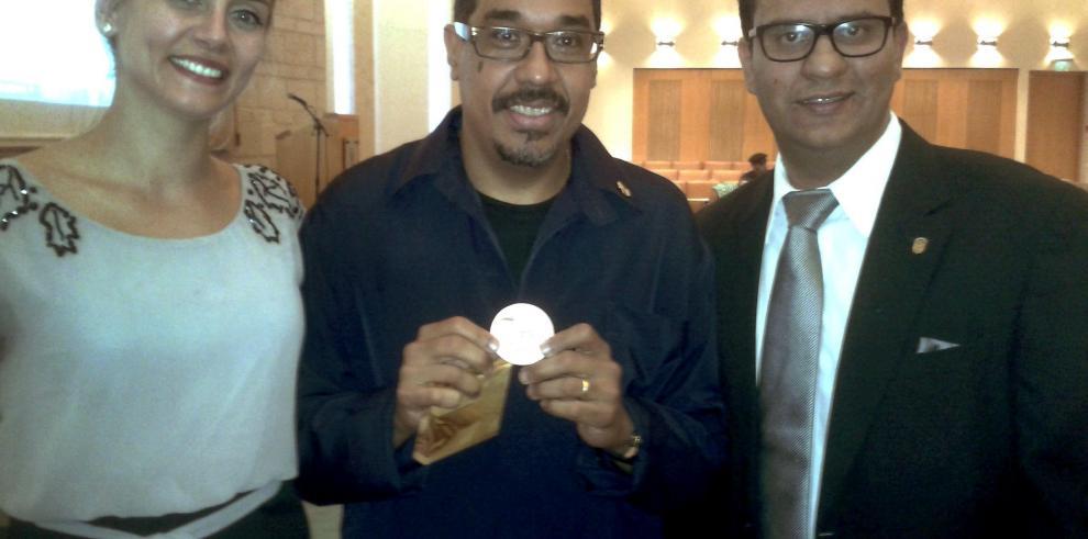 Danilo Pérez recibió la Medalla de Jerusalén