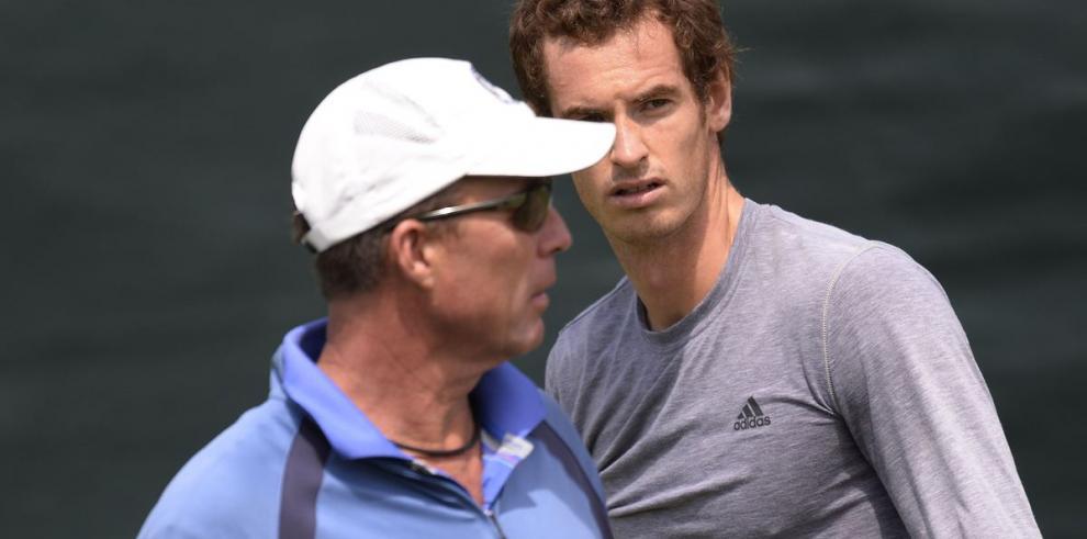 Andy Murray termina relación tenística con Ivan Lendl