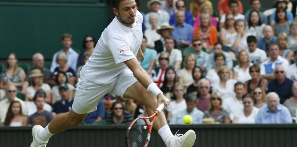 Federer alcanza las semifinales de Wimbledon