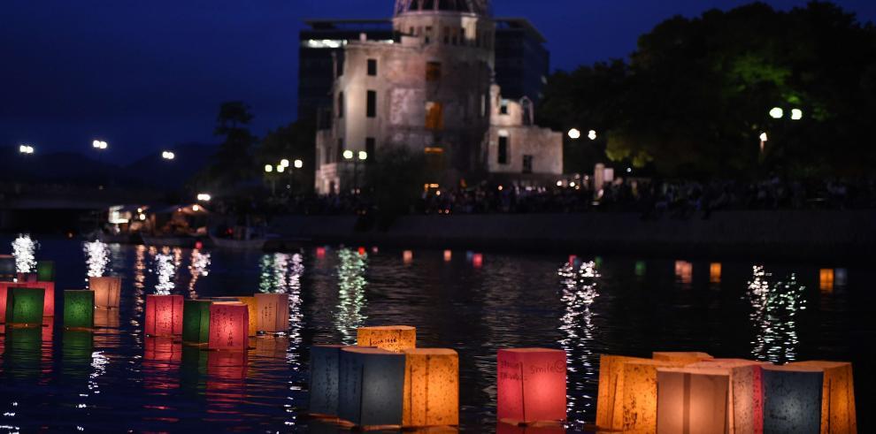 Hiroshima marca 69 aniversario de la bomba atómica