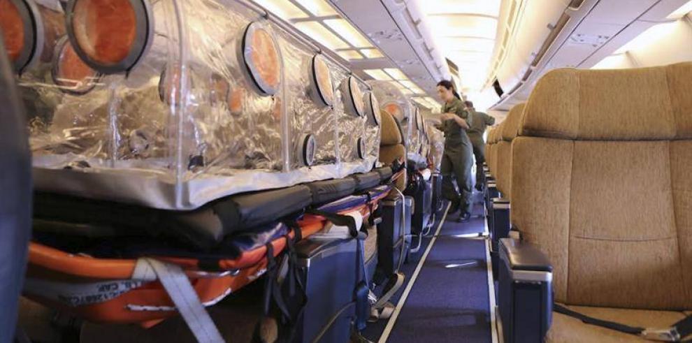 Llega a Liberia el avión que repatriará al español infectado por ébola