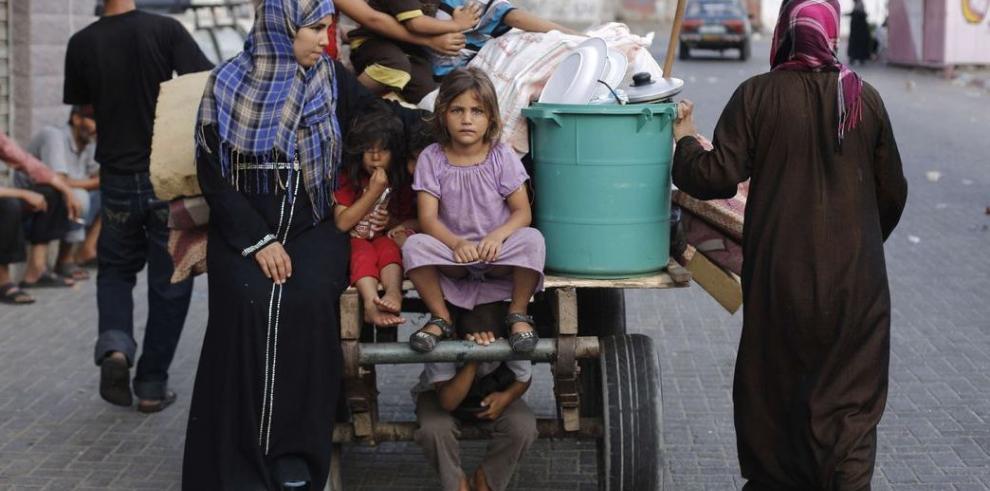 Silencio y devastación en la Franja de Gaza