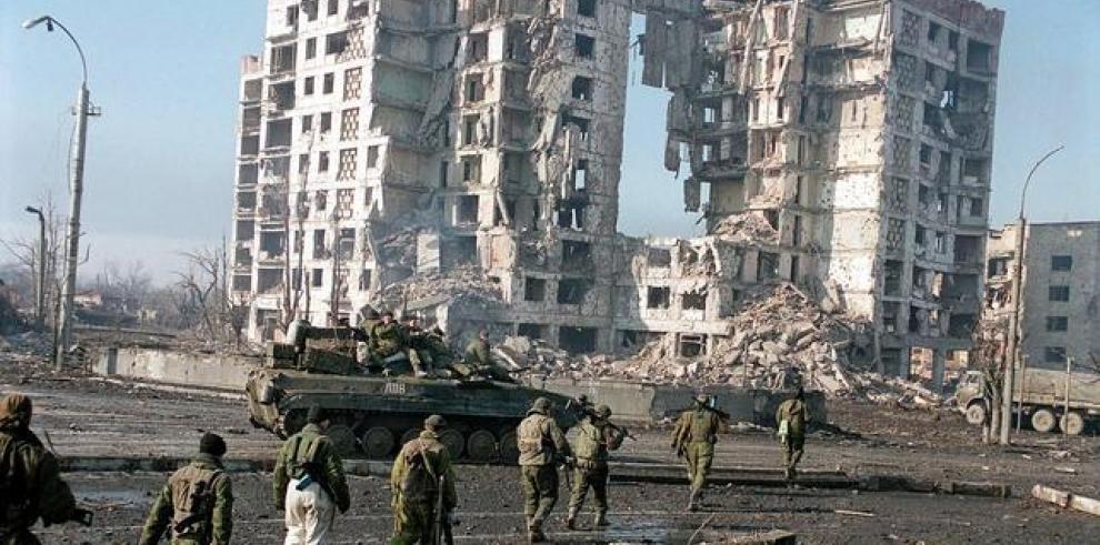 La guerrilla chechena vuelve a atacar Grozni