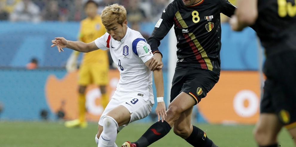 Bélgica derrotó 1-0 a República de Corea