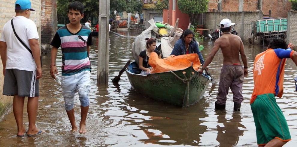 200 mil damnificados por lluvias en Paraguay