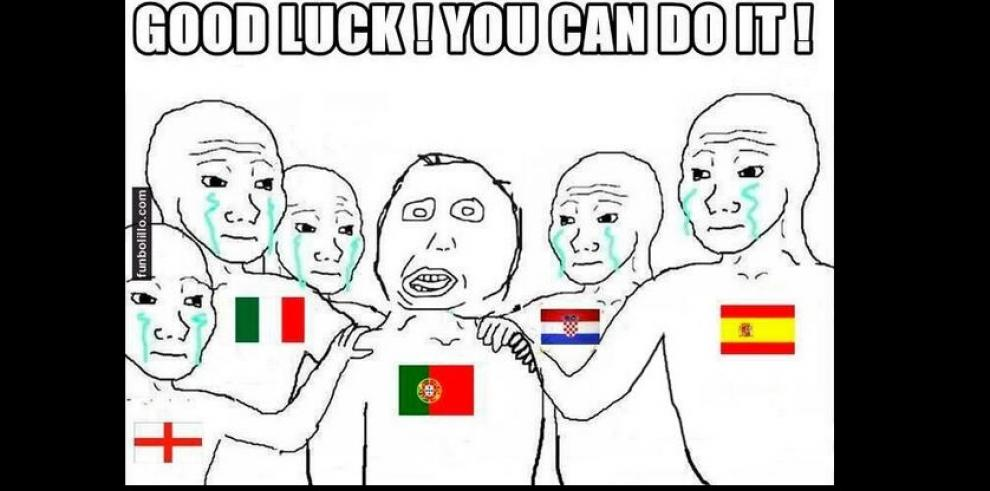 Memes de los partidos del Grupo G y H, además de la sanción de Suárez