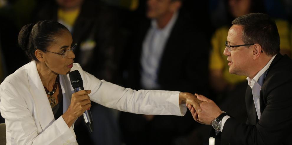 PSB de Marina Silva prefiere alianza con Neves en balotaje