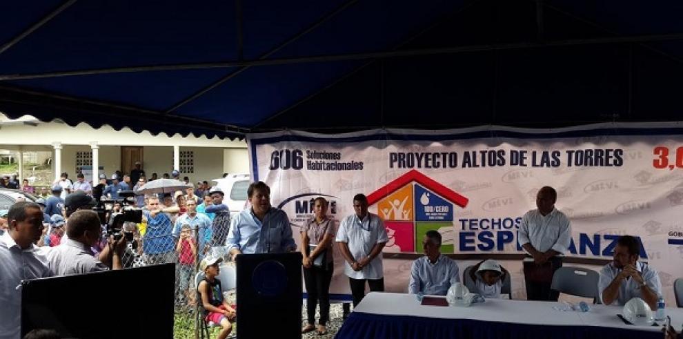Entregan primeras 50 viviendas de proyecto