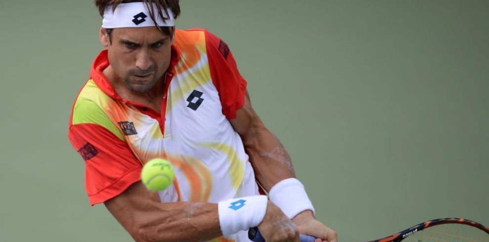 Ferrer, Mónaco y Djokovic ganan en Masters de Shanghai, Wawrinka eliminado