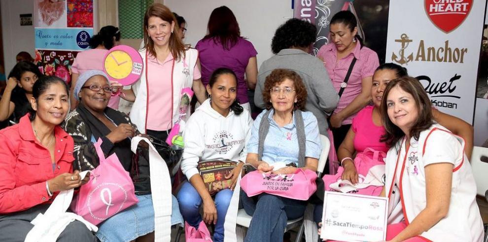 En el ION, a favor de la Cinta Rosada