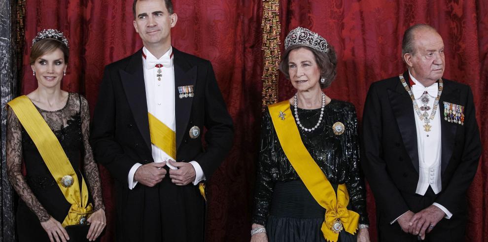 'No quiero que mi hijo se marchite como el príncipe Carlos'
