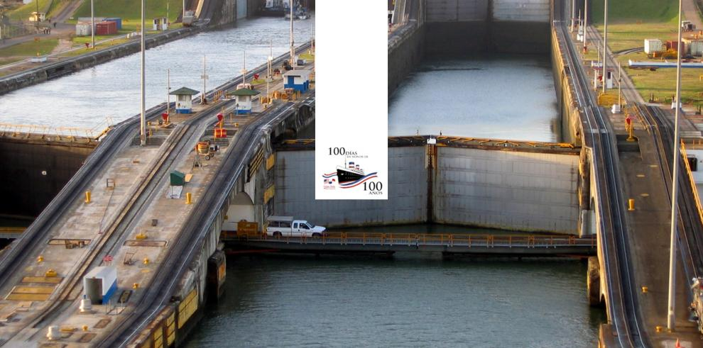 Inauguración del Canal de Panamá SS Ancón