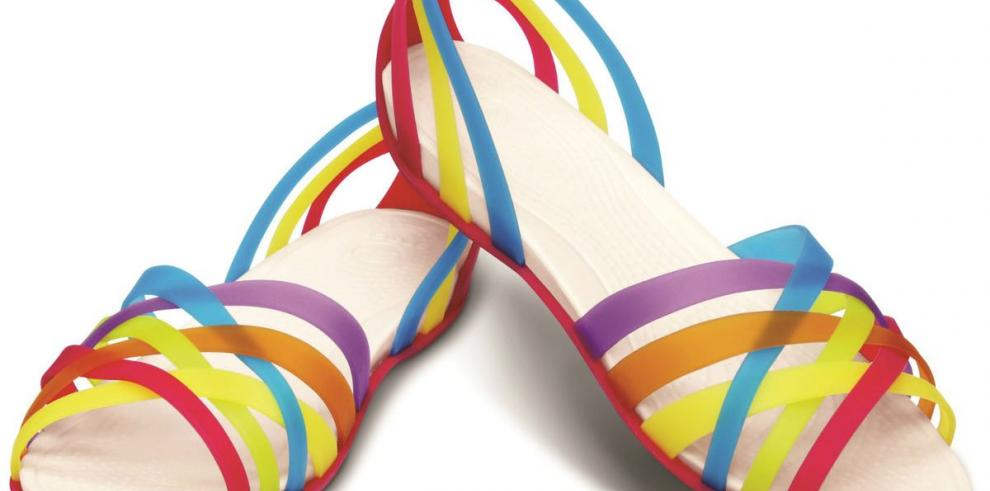 Propuestas coloridas para sus pies