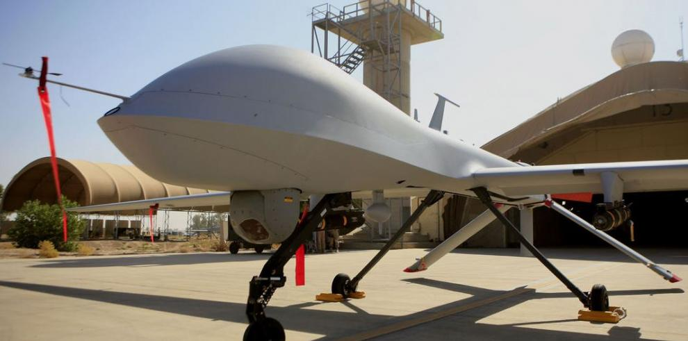 Drones armados de EE.UU. sobrevuelan Bagdad