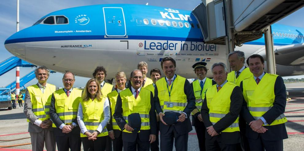 KLM conectará Europa con el Caribe usando biocombustible