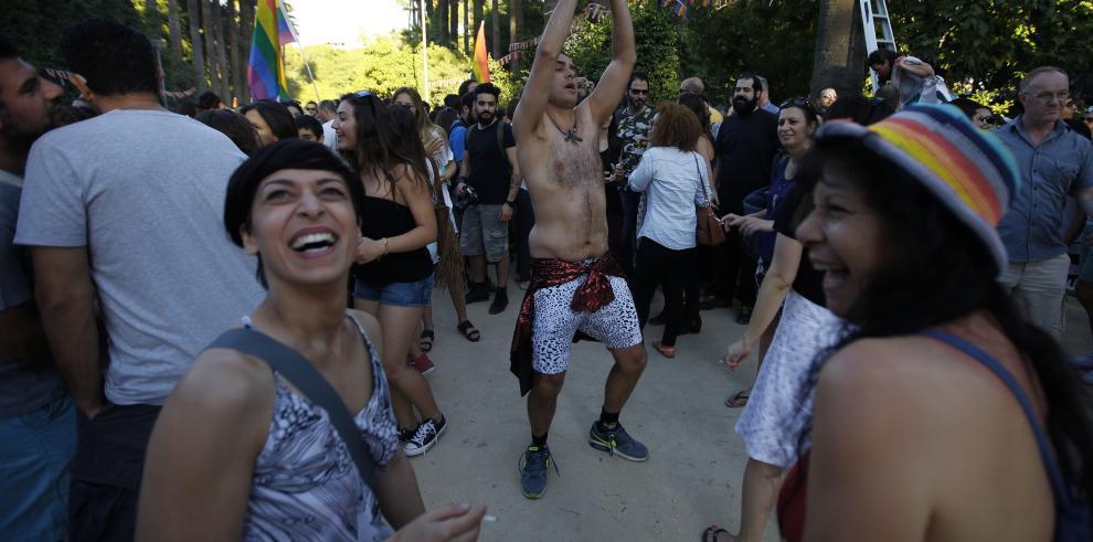 Primera marcha del Orgullo Gay para los chipriotas griegos
