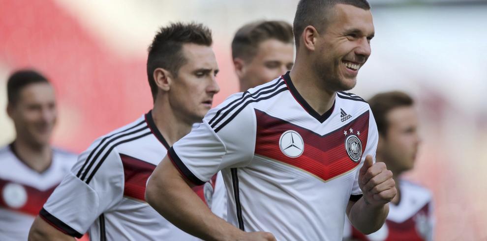Alemania desembarca en Brasil 8 días antes de su debut ante Portugal