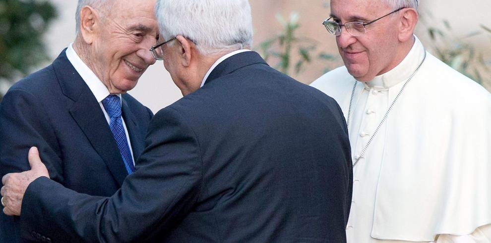 Israelíes y palestinos afirman ante el Papa estar listos para la paz