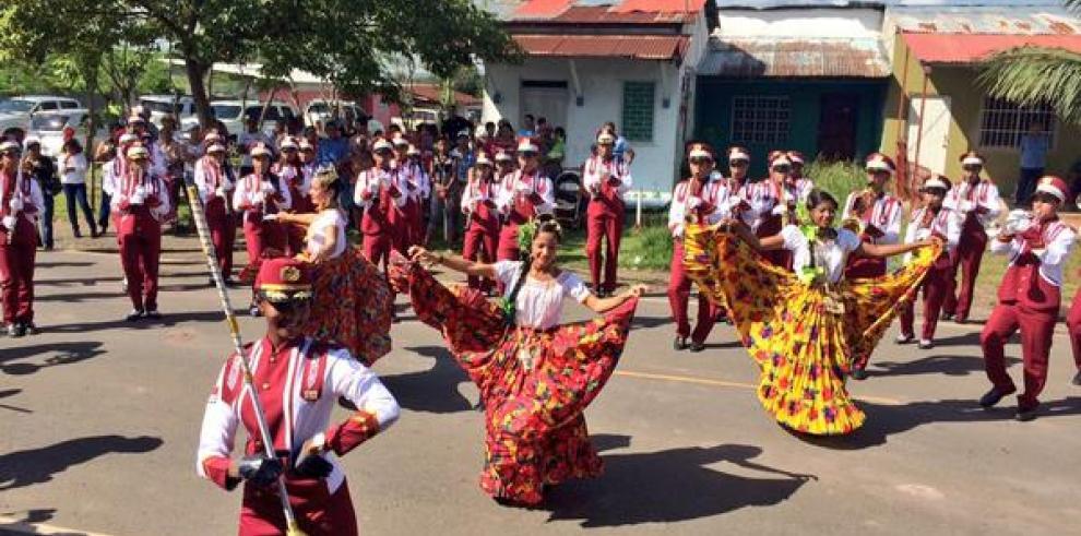 En La Chorrera celebran los 193 años de Independencia de España
