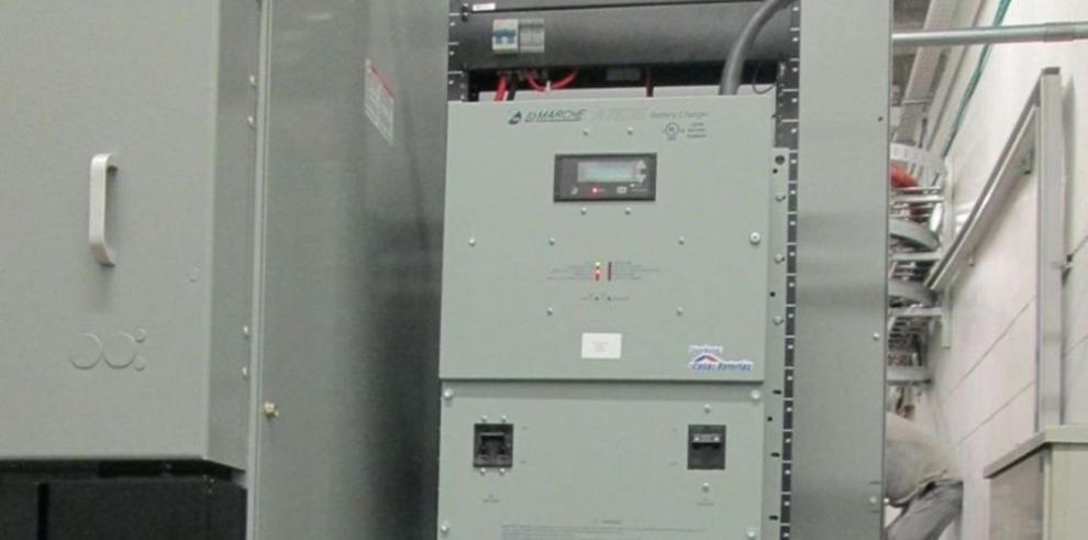 Respaldo de energía a base de baterías