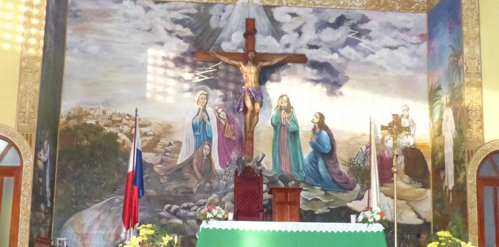 Murales de la Iglesia Catedral San José de David