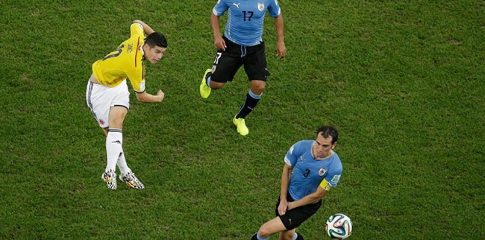 FIFA: gol de James Rodríguez ante Uruguay, el mejor del mundial
