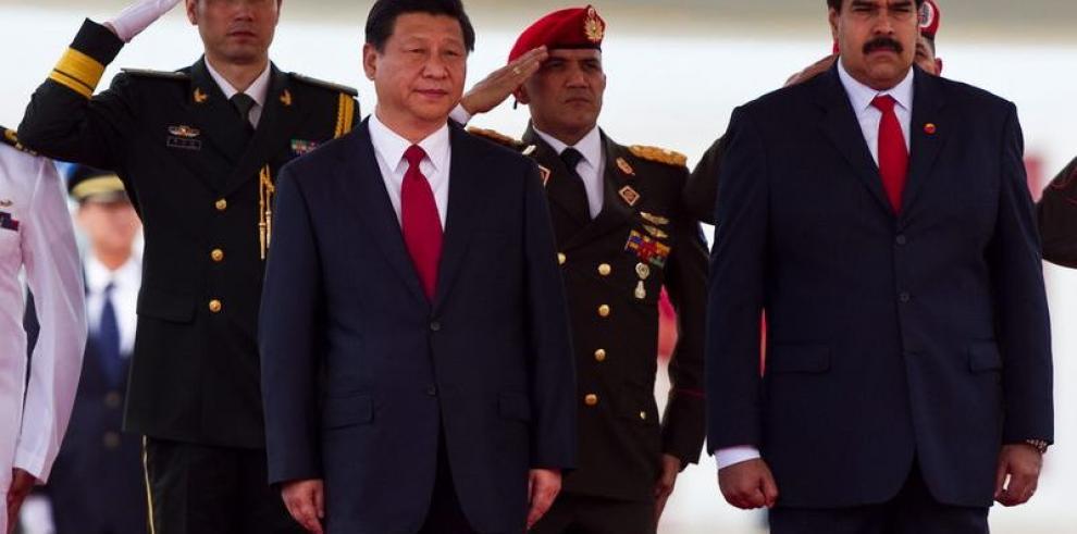 Presidente chino realiza visita oficial a Venezuela