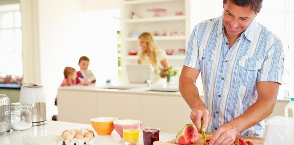 ¿Papá qué hay para desayunar?