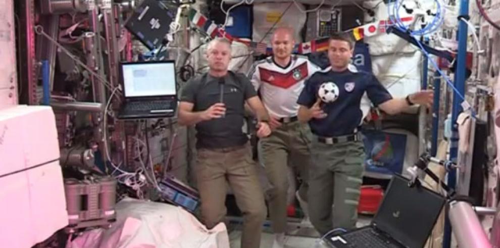 Astronautas seguirán el Mundial desde la Estación Espacial