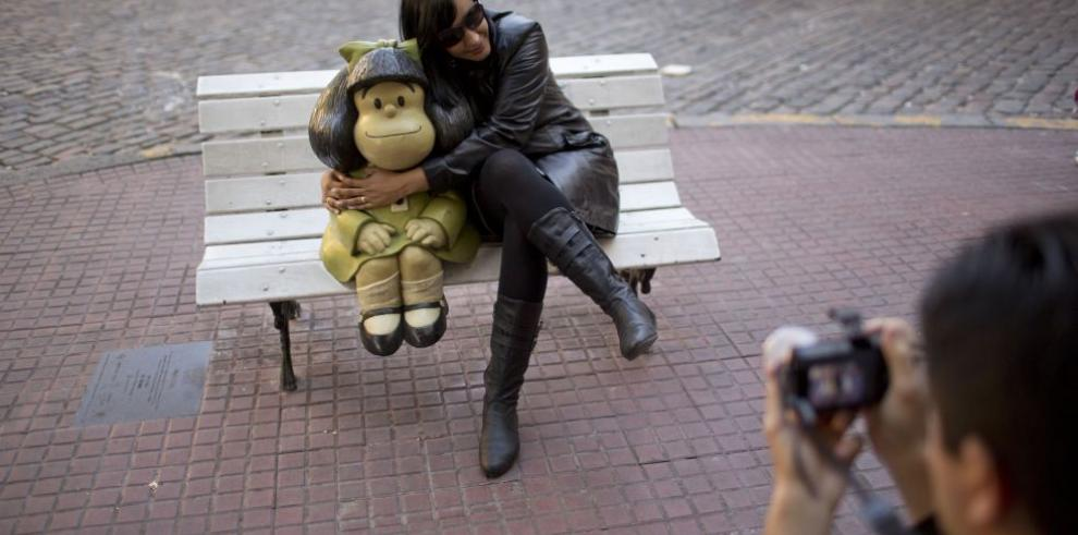 Celebran medio siglo de Mafalda con una exposición