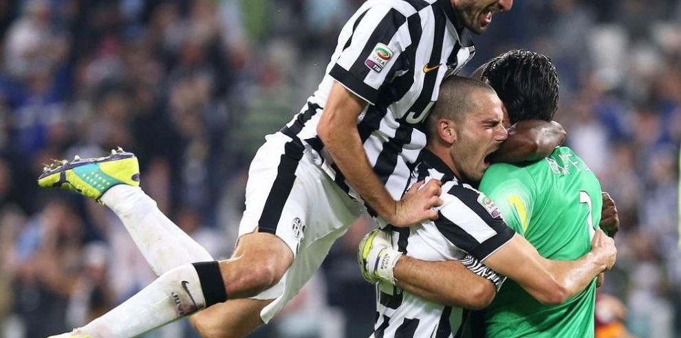 Juventus le ganó el duelo a la Roma en un intenso partido