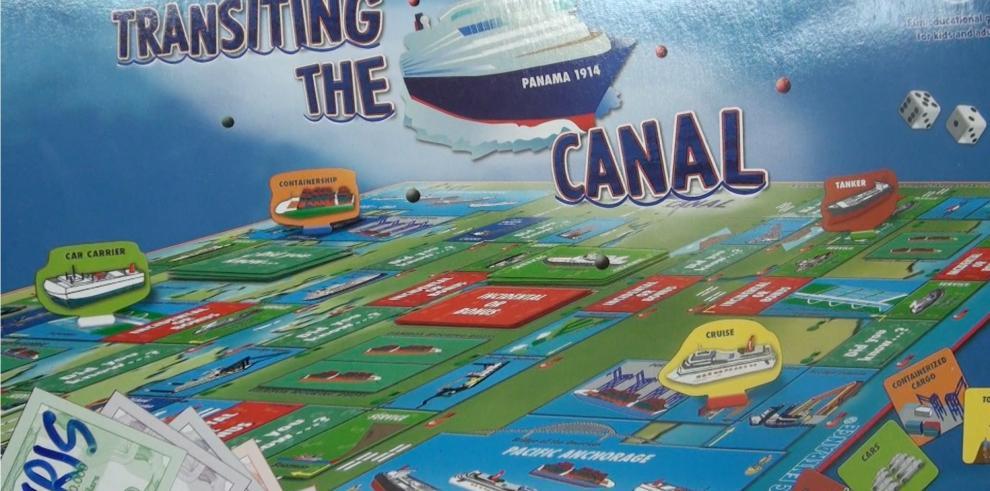 El juego de mesa del Canal de Panamá