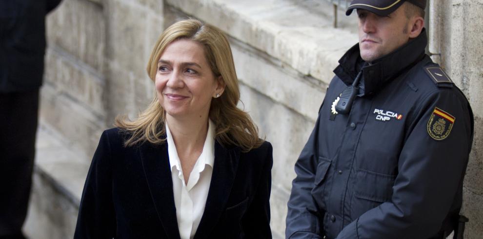 La justicia española reduce los cargos contra la hermana del rey