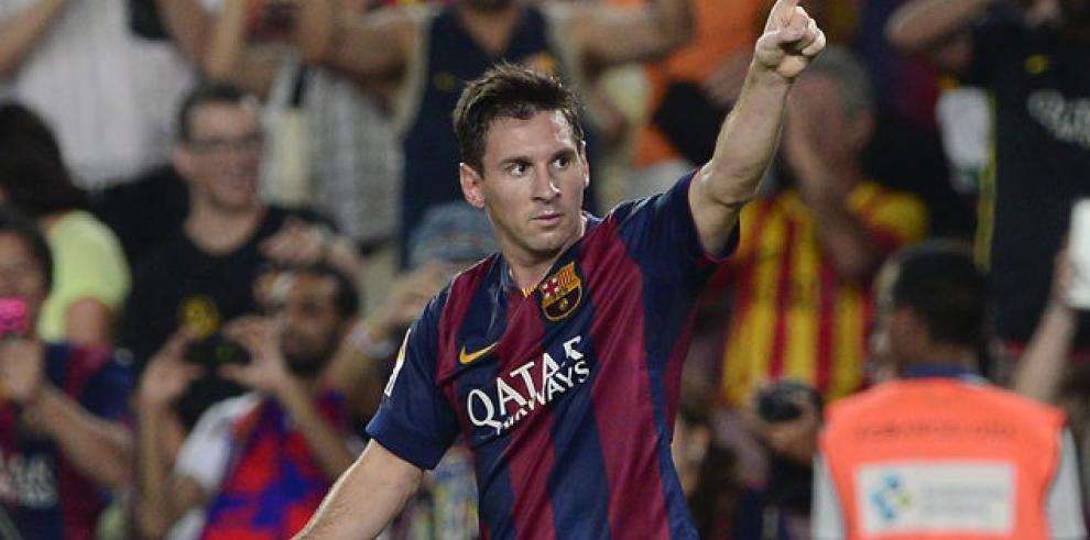 Feliz por el alto rendimiento de Messi: Luis Enrique