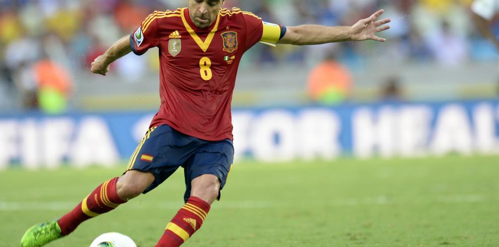 Xavi Hernández anuncia que deja la selección española