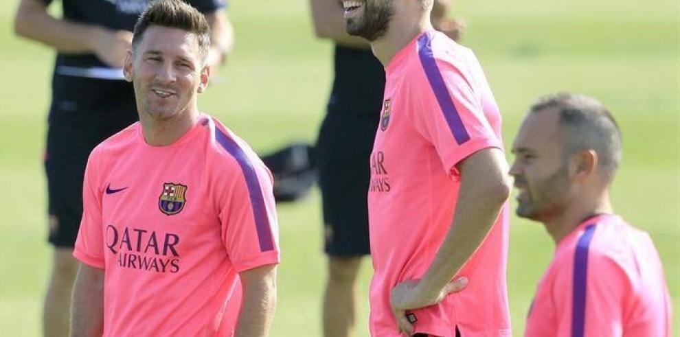 Messi, Neymar, Mascherano y Alves se incorporan a la pretemporada
