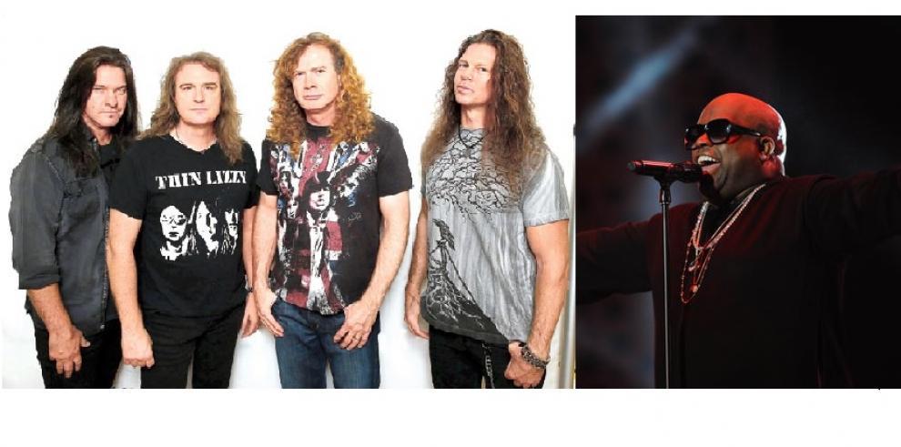 Banda Megadeth y rapero CeeLo Green cancelan conciertos en Israel