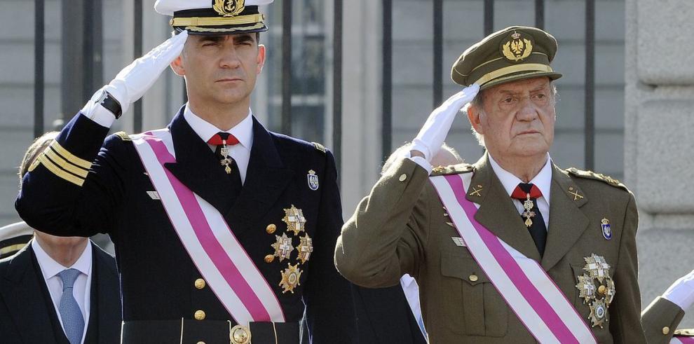 Juan Carlos de Borbón abdicó tras 39 años de reinado
