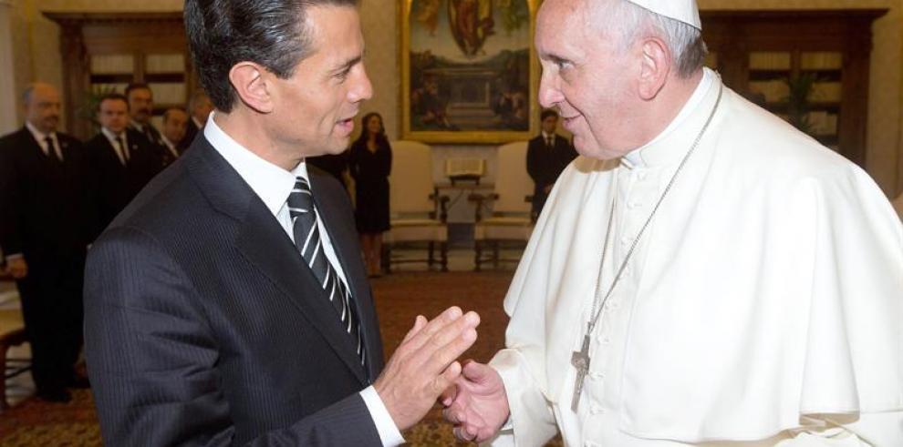 Peña Nieto y el Papa hablaron de emigración, narcotráfico y pobreza