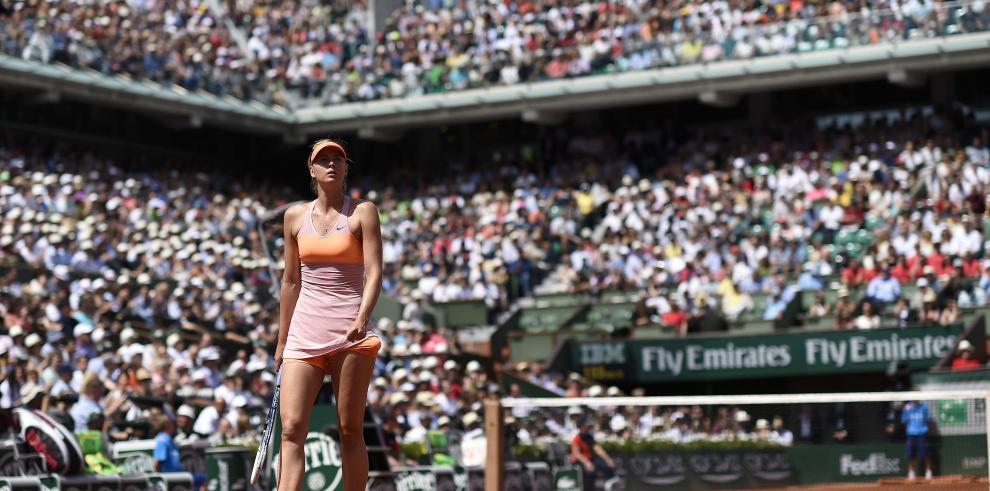 Sharapova: La reina de Roland Garros en imágenes