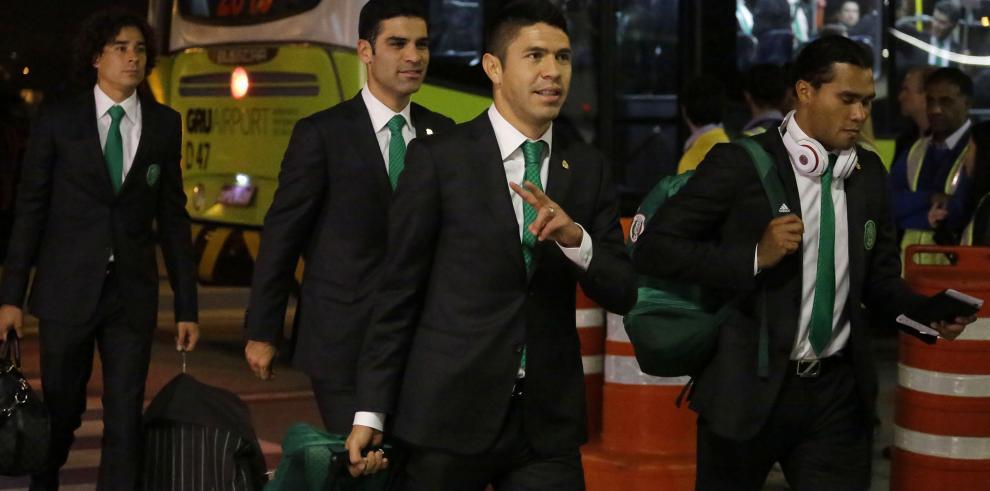 La selección mexicana llega a Sao Paulo cuando restan 5 días para el Mundial