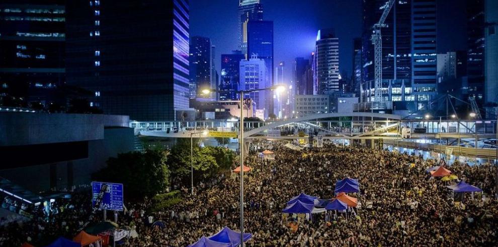 La cruzada por la democracia en las calles de Hong Kong