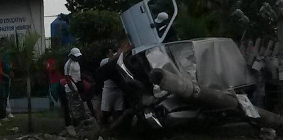 Accidente en Vacamonte deja una víctima fatal
