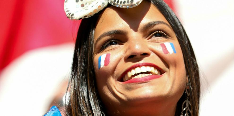 Las bellezas francesas que apoyaron a su selección