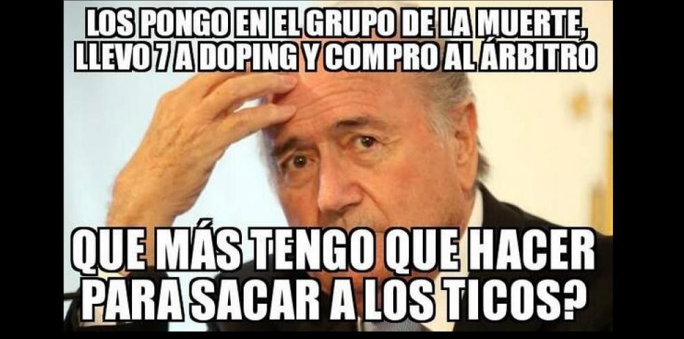 Memes de la derrota de México, de Robben y otros de Costa Rica