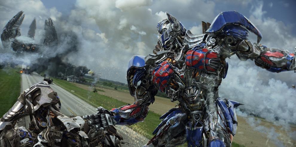 Transformers: Age of Extinction arrasa con la taquilla en EE.UU.