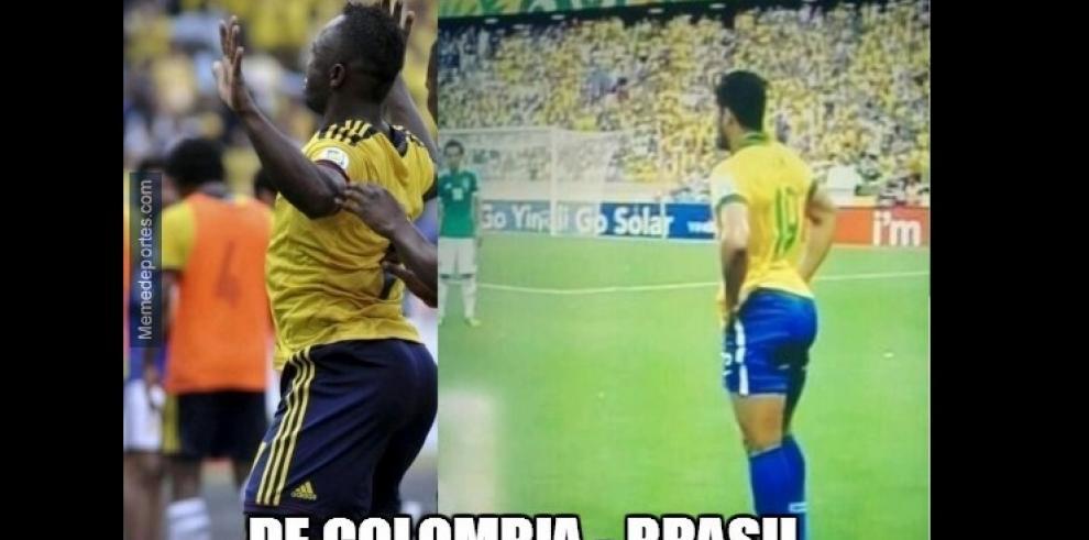 Memes de los partidos Francia vs Nigeria y Alemania vs Argelia