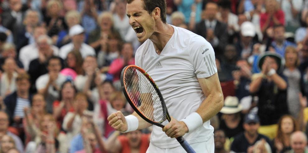Murray no defrauda a su público y ya está en cuartos de Wimbledon